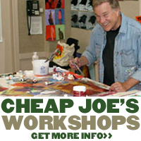 Cheap Joe's - Artist Workshops